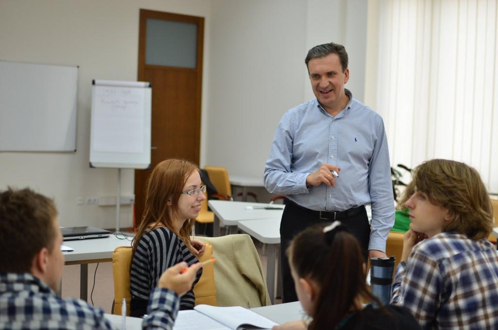 Павло Шеремета викладає на Програмі з інновацій та підприємництва
