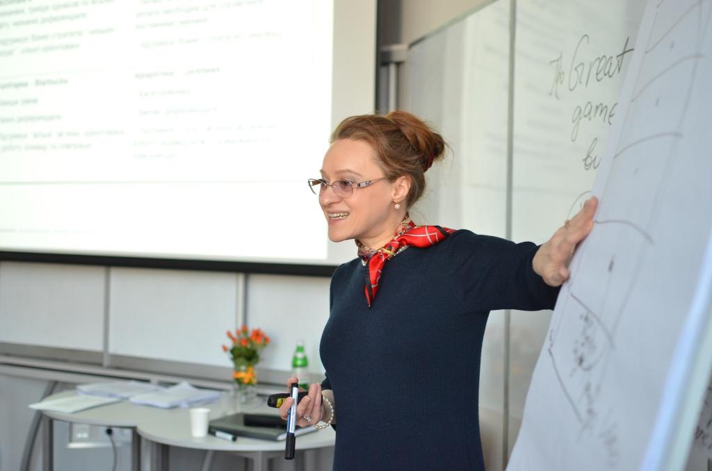 Ольга Горбановська викладає на програмі для HR у LvBS