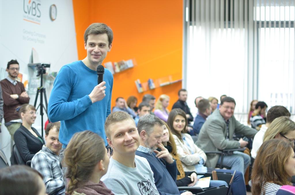 Тимофій Александронець на підсумкових презентаціях проекту Smart City