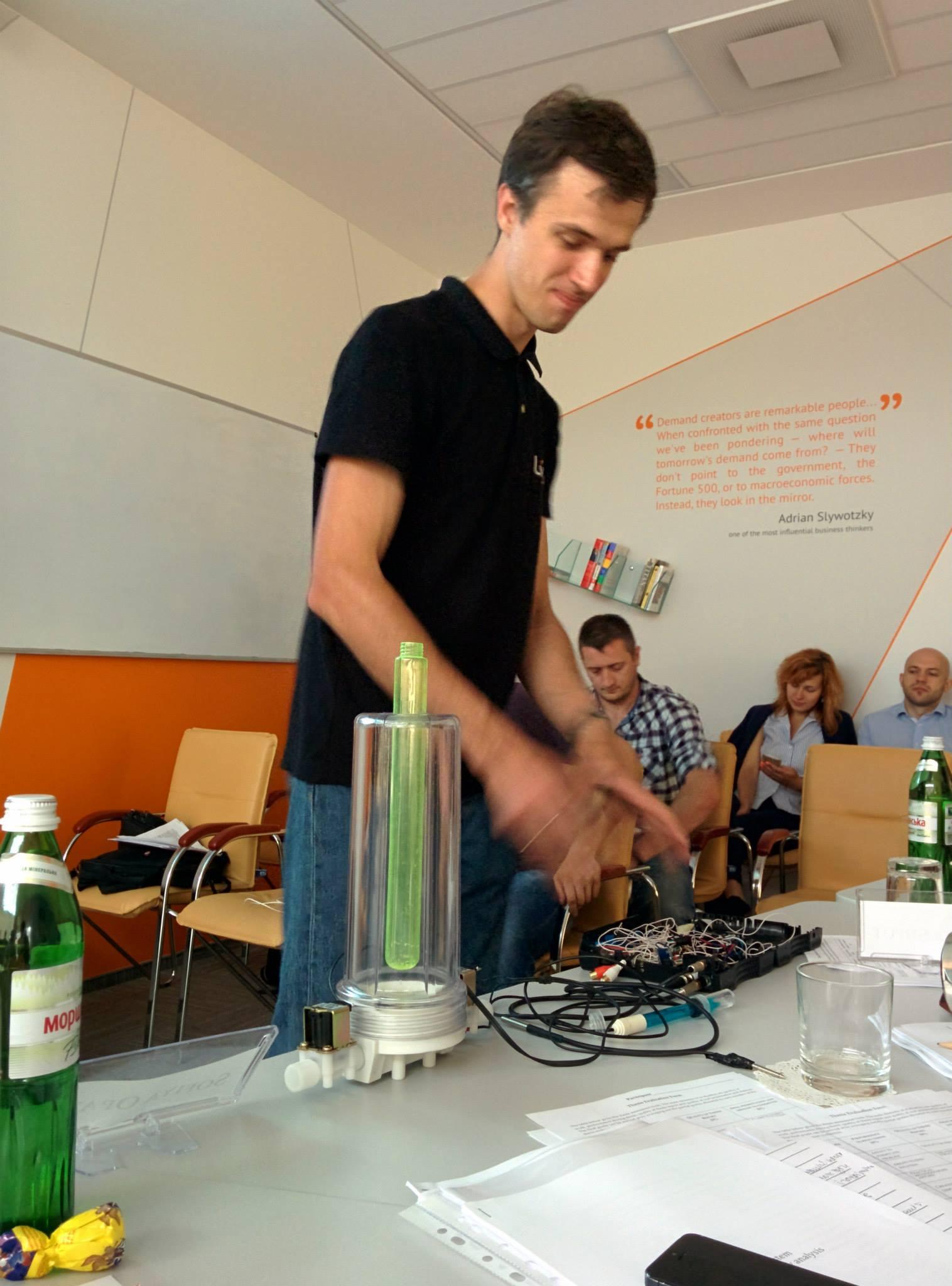 Антон Скрипник представляє перший концепт H2Ometr