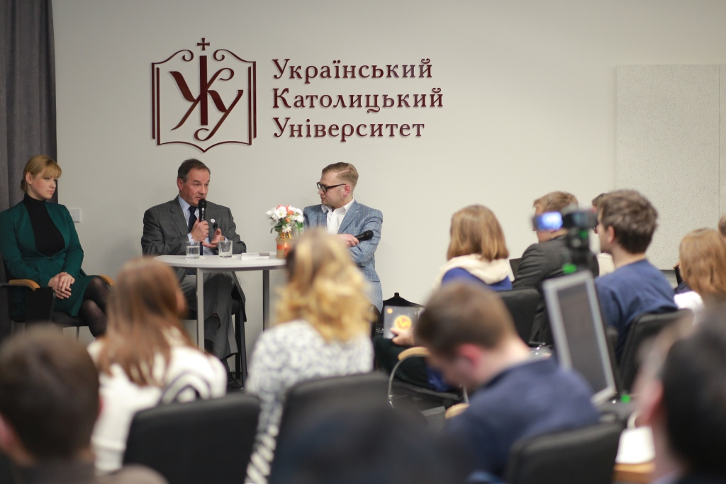 Michel Tereshchenko gave a public lecture at Lviv Business School of UCU