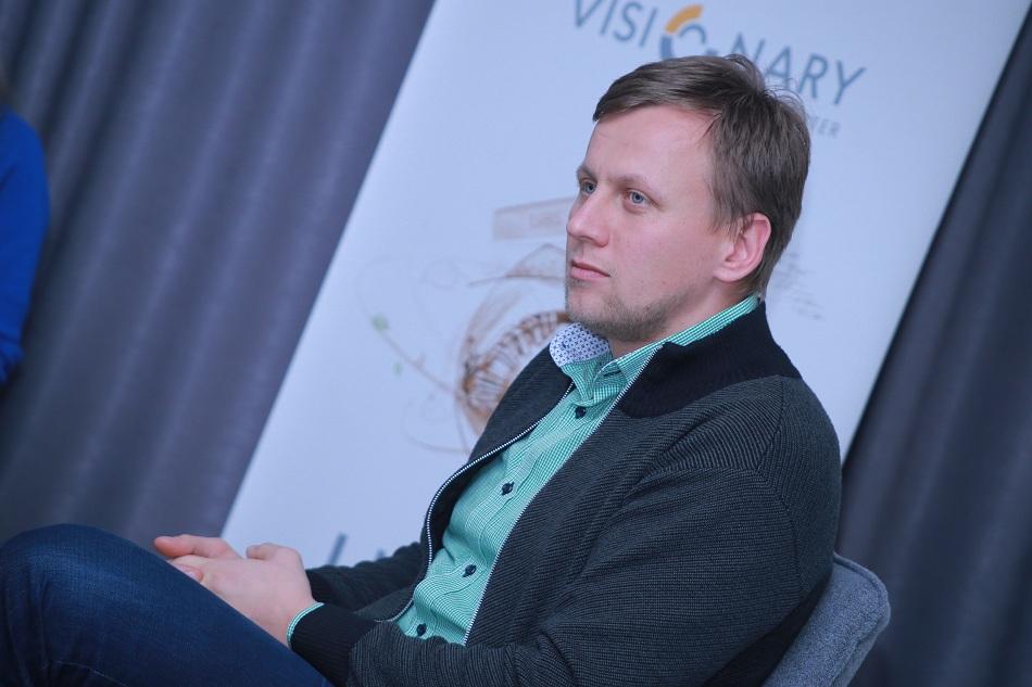 Юрій Лопатинський на Intro Talk в LvBS